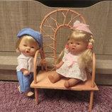 характерная кукла 20см, пара