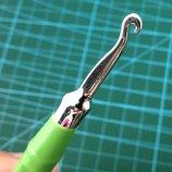 Металлический крючок rainbow loom bands для плетения резинки разноцветных браслетов