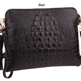 Модные сумочки - клатчи из натуральной кожи.