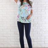 Узкие летние джинсы для беременных Jodie в двух цветах