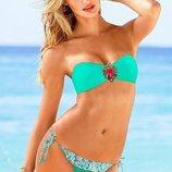 Раздельный купальник бандо Victoria s Secret Реплика