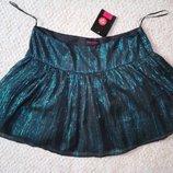 Новая юбка юбочка с блестками низ фатин размер S M