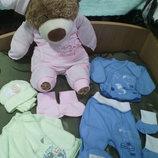 комплект для новорожденных, костюмчик для новорожденных, набор на выписку для новорожденного