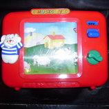Детская игрушка музыкальный телевизор Simba Германия оригинал