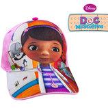 Бейсболка кепка детская розовая Доктор Плюшева, бренд Disney