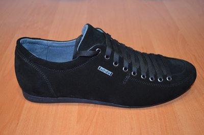 Мужские замшевые туфли.