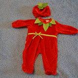 костюм клубнички