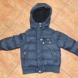 Теплая куртка,пуховик Orchestra. Размер 3г. , 98-104см