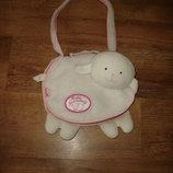 Сумка овечка для Беби Анабель Baby Annabell Zapf Creation, аксессуары для кукол