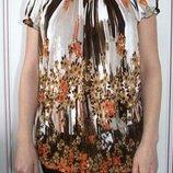 Блуза легкая и воздушная, свободный размер