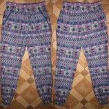 На 7-8 лет Модные летние штаны Young Dimension девочке