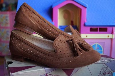 Туфли новые женские светло-коричневые размер 36, 37, 38, 39, 40