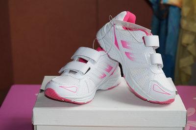 Кроссовки белые с розовым новые для девочки р. 29,30 32,33,34,35