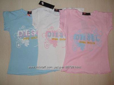Супер-Распродажа супер футболочек на принцесс 92-140см. Только бренды