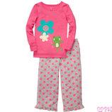 флисовые пижамы carters 3т