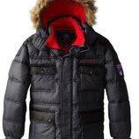 зимняя куртка парка р146-156см