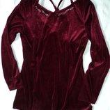 Фирменное велюровое платье туничка на 12-15 лет и старше