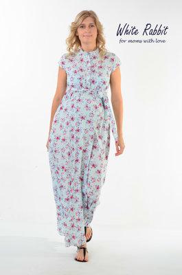 ebf30f132bac584 Длинное платье в пол для беременных и кормящих мам: 855 грн - платья ...