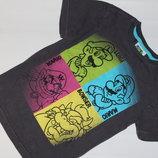 Модная футболочка футболка на 5-6 лет Super Mario