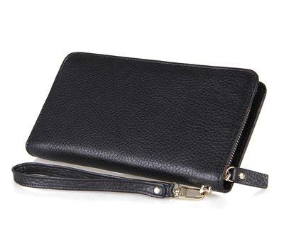 Мужской клатч кошелек портмоне кошелек на молнии
