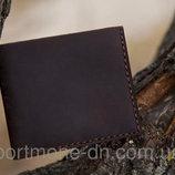 Кошелек, портмоне Винтаж из натуральной кожи, ручная работа