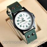 Мужские часы. Наручные часы. Military коричневый