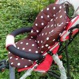 Матрасик-Вкладыш в коляску,кресло,стульчик для кормления