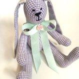 Нежная зайка тильда подарок дочке девушке маме оригинал, текстильная игрушка