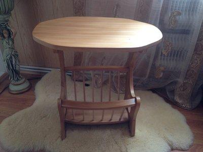 Деревянный журнальный, кофейный столик