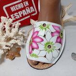 Босоножки кожаные,женские,удобные,красивые. Менорки, абаркасы 37 38 Испания