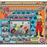 Конструктор металлический Мототранспорт 1394 Технок