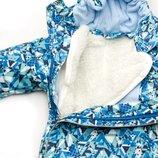 Комбинезон-Трансформер демисезонный зимний с отстегивающимся мехом для мальчика