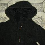 Шерстяное пальто на малыша Нм 80-92 см
