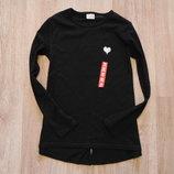 45. Новый стиляжный реглан Zara для девочки, размер 7-8 лет.