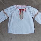 Новые вышиванки для девочек Тм Бома на рост 92-134см
