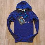 69. Новая пайта Piazza Italia, размер 9-10 лет, для мальчика, котон, фиолетовый цвет.