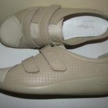 Нові брендові шкіряні дихаючі туфлі Hotter comfоrt concept Оригінал Англія р.5,5 стелька 25 см