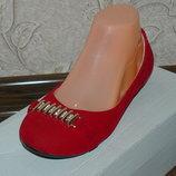 Замшевые балетки,туфли 36-41 разм