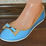 Туфли-Балетки 24,5 см в наличии