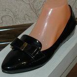 Лаковые туфли 24,5 см и 26,5 см в наличии