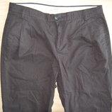 брюки, штаны, Манго, зауженные, черные, S-М