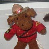 Мягкая маленькая игрушка Лось символ Канады