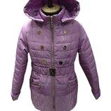 Куртка весенняя для девочки подростковая Кнопочка