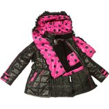 Новая зимняя куртка Kiko модель Панда - р.164см