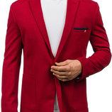 красний мужской пиджак