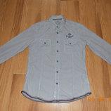 Стильная рубашка Sprit для мальчика 14-16 лет, размер М