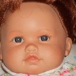 Шикарная интерактивная кукла-пупс Antonio Juan Испания оригинал клеймо 40 см