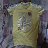 футболка туника Primigi на рост 130 см