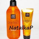 Шампунь и маска восстановление волос Mise en Scene perfect repair Shampoo, treatment