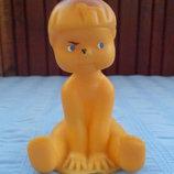 Резиновая игрушка пупсик 10 см